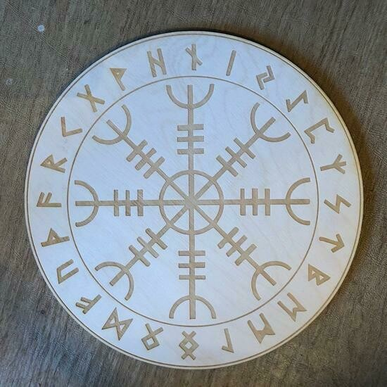 """Helm of Awe Intention Board 4"""""""