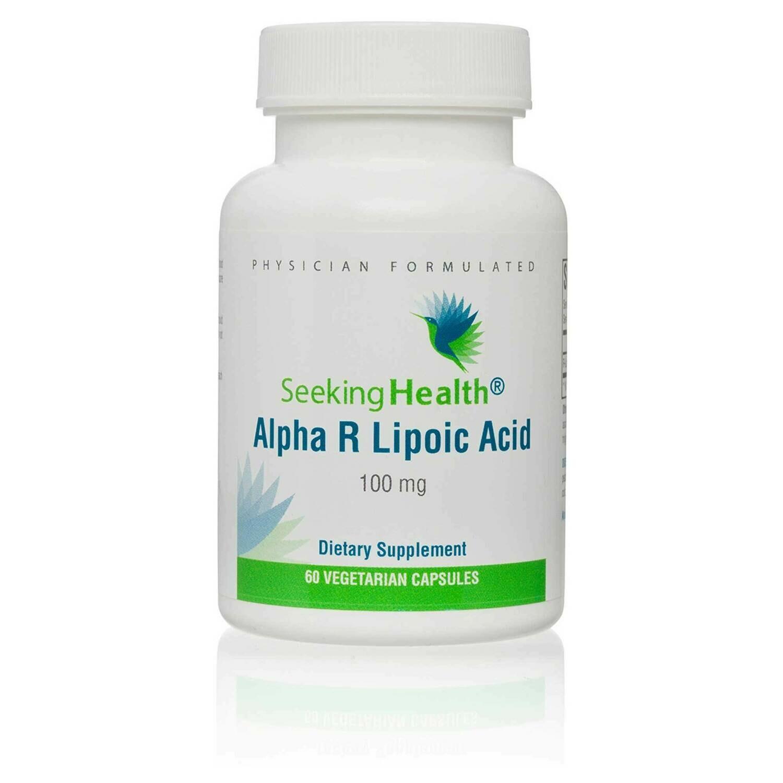 Alpha R Lipoic Acid 100mg by Seeking Health 60ct