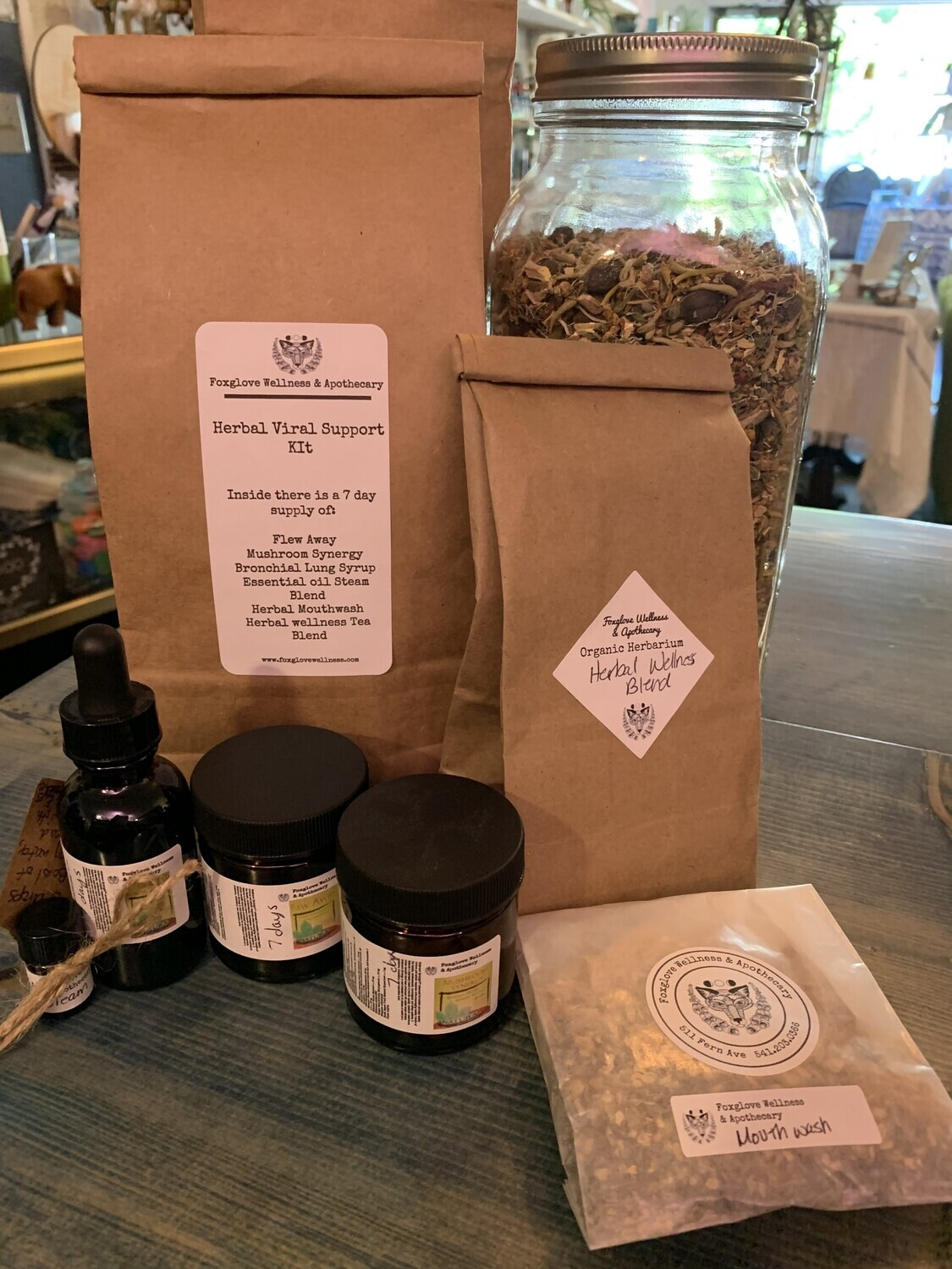 Herbal Viral Support Kit 7 Day