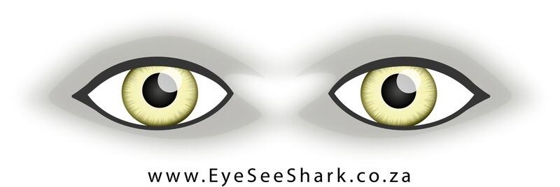 Green Eyes - Shark Deterrent Sticker