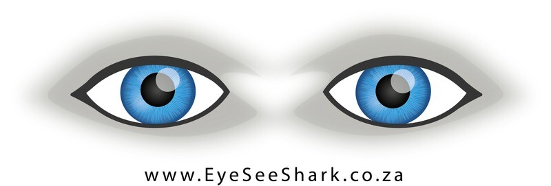 Blue Eyes - Shark Deterrent Sticker