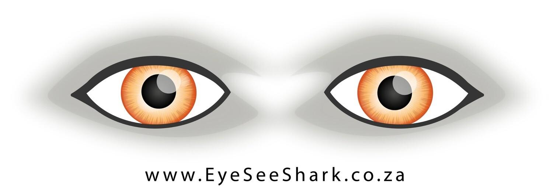 Orange Eyes - Shark Deterrent Sticker
