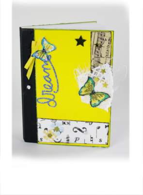 Limited Edition - Signed Amber/Sam Mini Notebook
