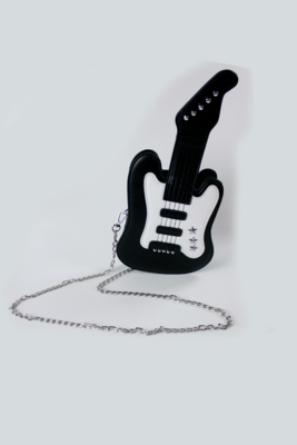 Black Guitar Purse