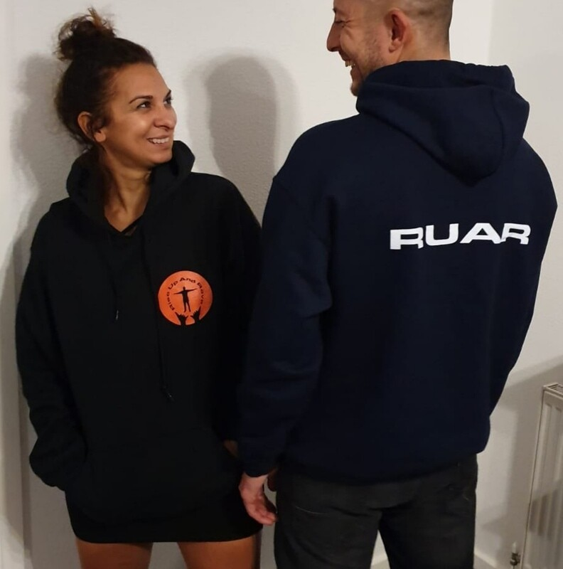 ORIGINAL Rise Up And Rave Hoodies