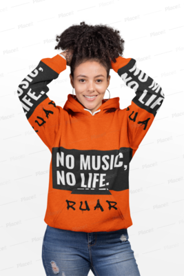 No Music No Life Hoody