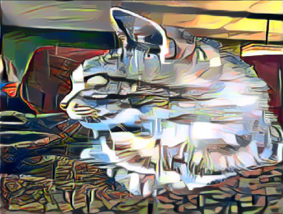 Cubism Style Pet Portrait