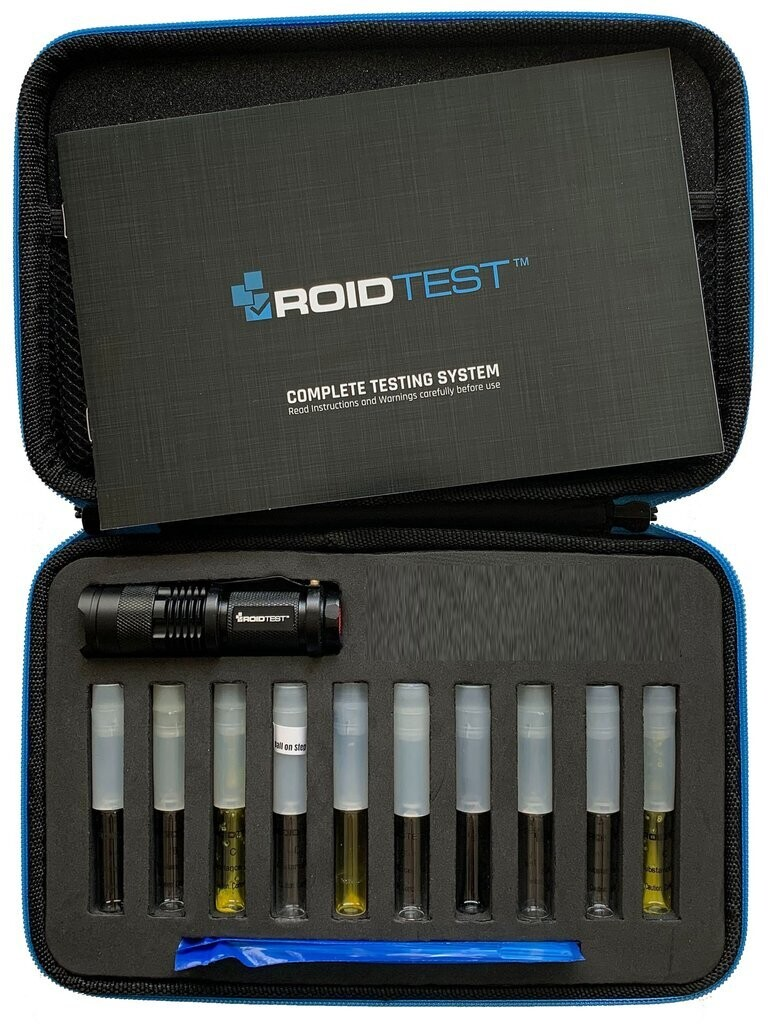ROIDTEST™ Complete Steroid Testing System