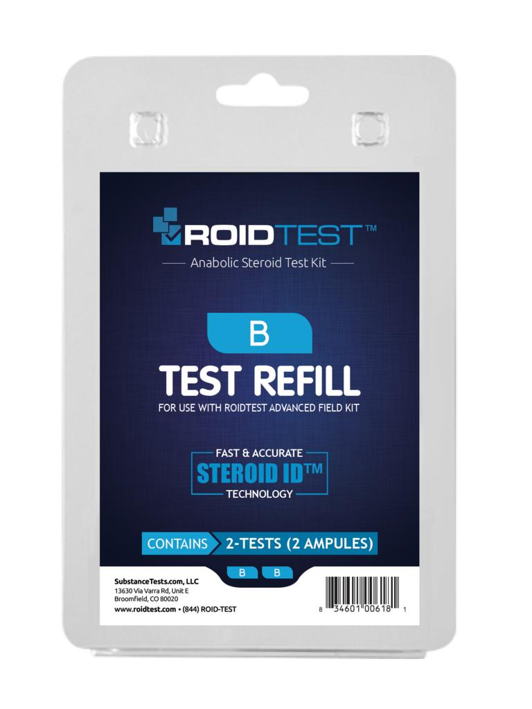 ROID Test B Refill - (2 Tests)