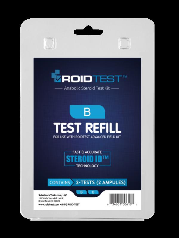 ROID Test B Refill - (2 Tests)