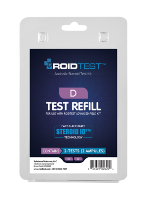ROID Test D Refill - (2 tests)