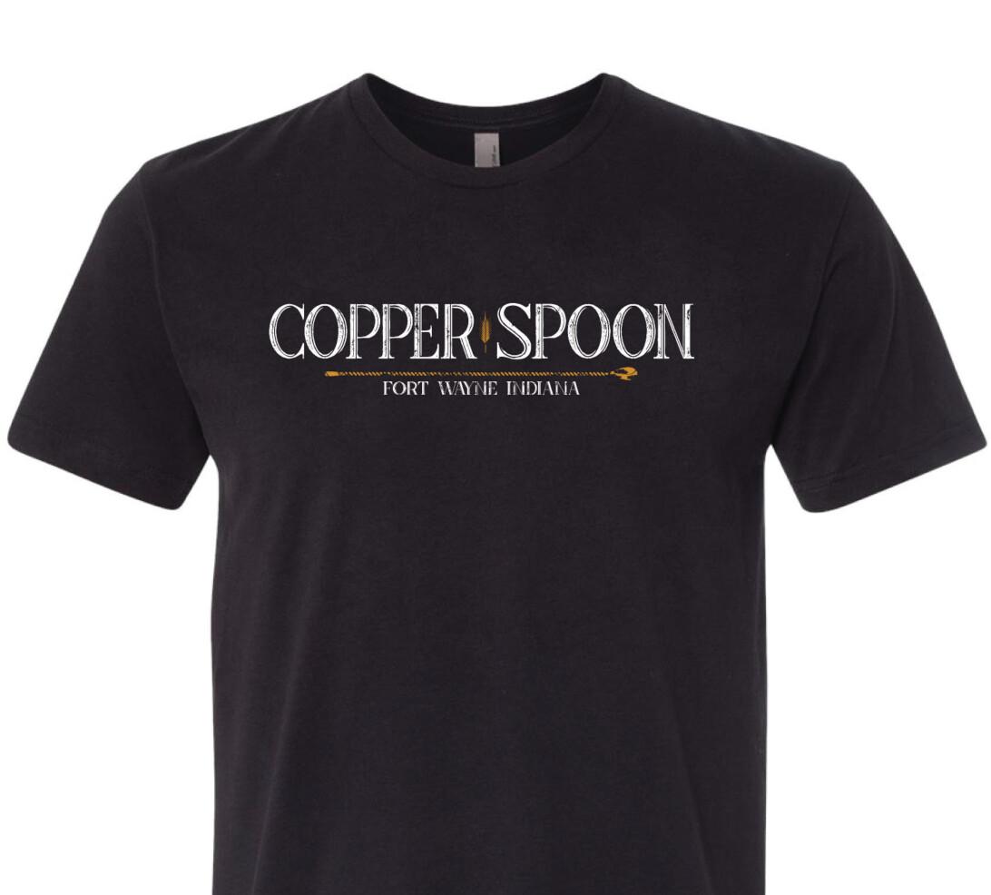 Black Copper Spoon T-Shirt