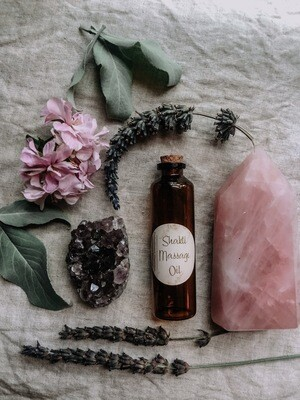 Shakti Massage Oil ~ Hormone Balancing