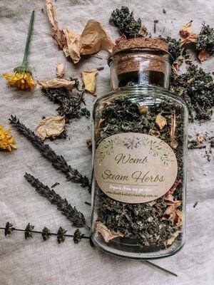 Womb Steam Herbs Jar