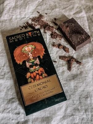 Sacred Earth Ceremonial Cacao 200gm