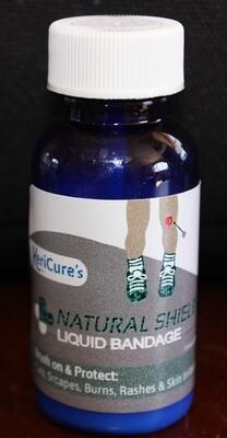 Natural Shield Antimicrobial Silver Liquid Bandage