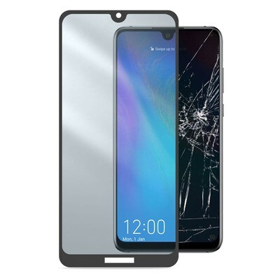 Cellular Line Tempered Glass Capsule Huawei Y7 (2019) TEMPGCABY719K