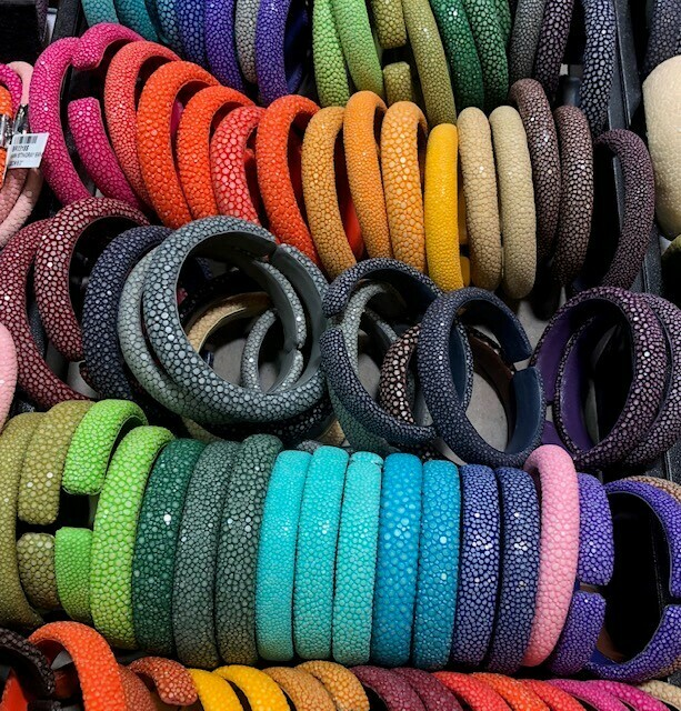 Shagreen (stingray bracelets)