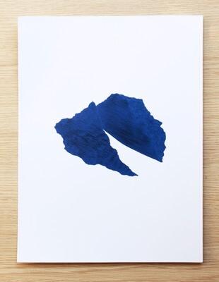 Poster Bleu.