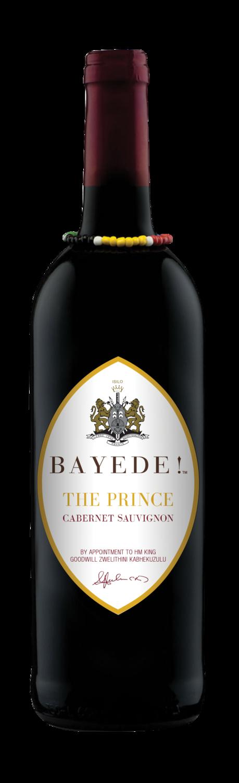 BAYEDE! THE PRINCE CABERNET SAUVIGNON - 6 x 750ml