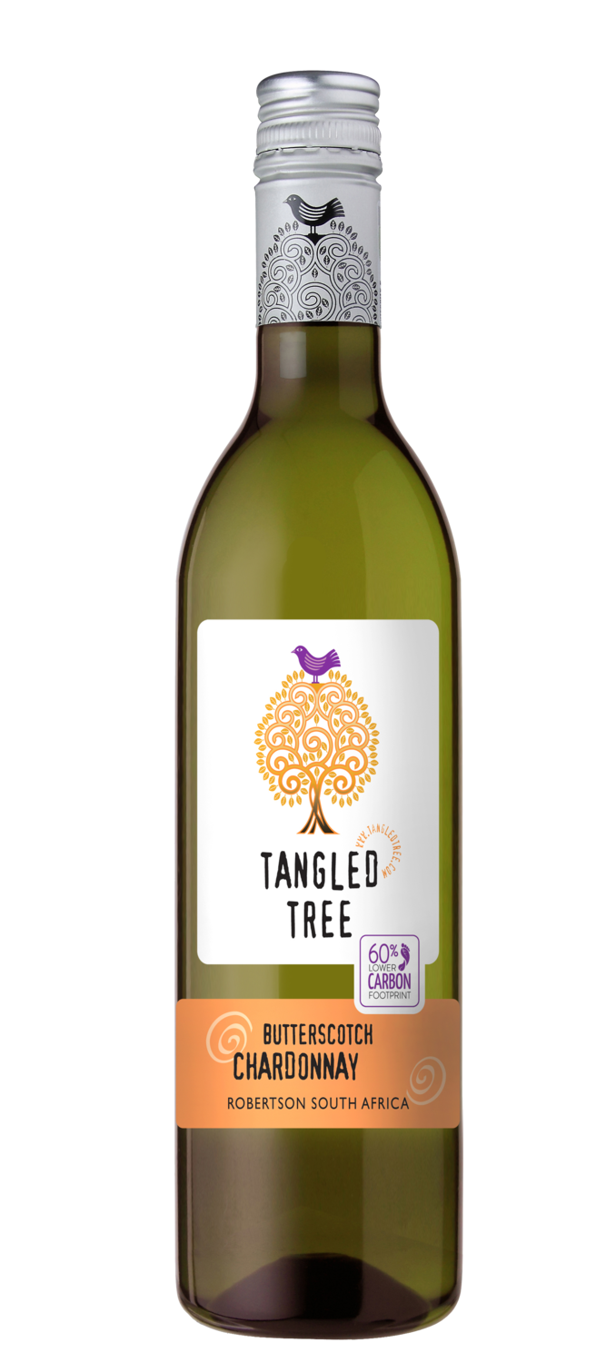 TANGLED TREE BUTTERSCOTCH CHARDONNAY (PET) - 12 x 750ml