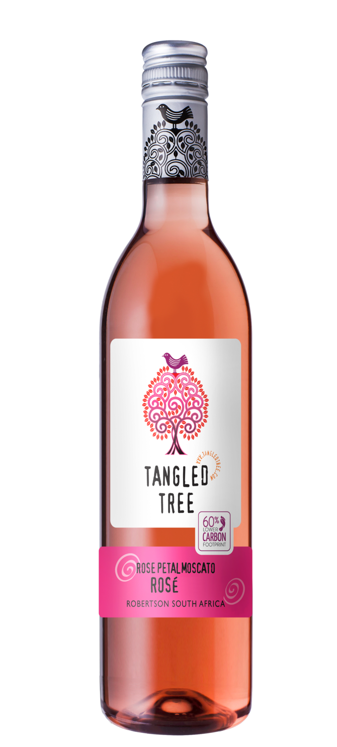 TANGLED TREE MOSCATO ROSÉ (PET) - 12 x 750ml