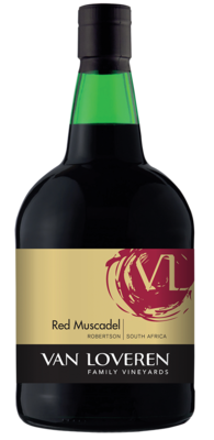 VAN LOVEREN RED MUSCADEL - 6 x 750ml