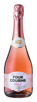FOUR COUSINS SPARKLING BLUSH - 6 x 750ml