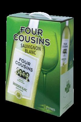 FOUR COUSINS SAUVIGNON BLANC - 4 x 3L