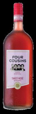 FOUR COUSINS SWEET ROSÉ - 6 x 1.5L
