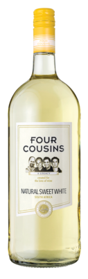 FOUR COUSINS NATURAL SWEET WHITE - 6 x 1.5L