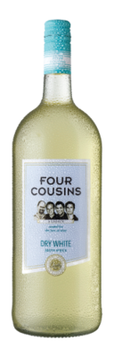 FOUR COUSINS DRY WHITE - 6 x 1.5L