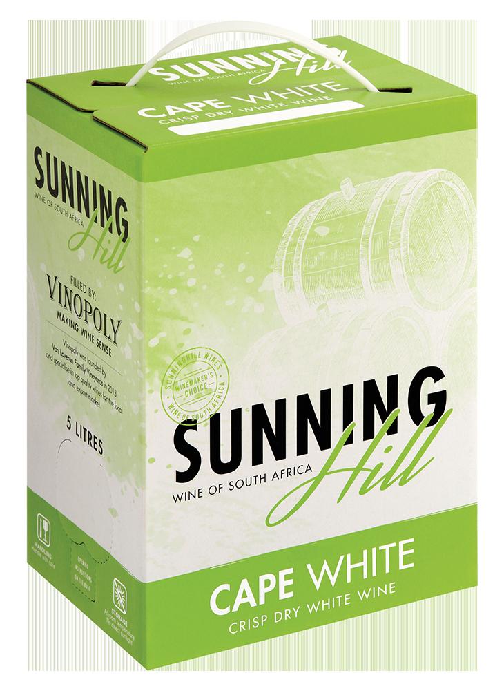 SUNNINGHILL CAPE WHITE - 4 x 5L