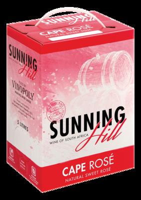 SUNNINGHILL CAPE ROSÉ - 4 x 5L