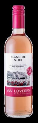VAN LOVEREN BLANC DE NOIR RED MUSCADEL - 6 x 750ml