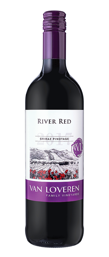 VAN LOVEREN RIVER RED SHIRAZ/PINOTAGE - 6 x 1.5L