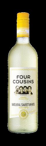 FOUR COUSINS NATURAL SWEET WHITE - 12 x 750ml