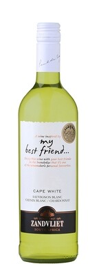 ZANDVLIET MY BEST FRIEND CAPE WHITE - 6 x 750ml