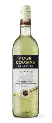 FOUR COUSINS COLLECTION CHARDONNAY - 6 x 750ml