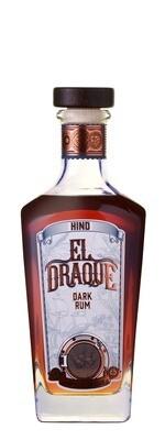 HIND EL DRAQUE DARK RUM - 6 x 750ml