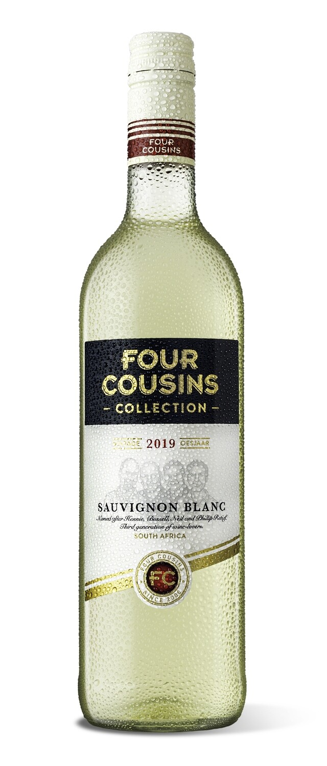 FOUR COUSINS COLLECTION SAUVIGNON BLANC - 6 x 750ml