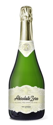 ABSOLUTE ZERO ALCOHOL FREE SPARKLING WINE -  6 x 750ml