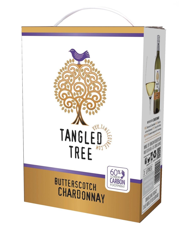 TANGLED TREE BUTTERSCOTCH CHARDONNAY - 4 x 3L
