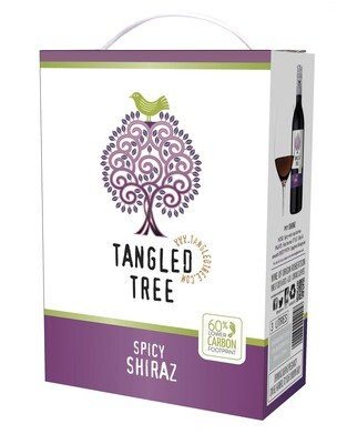 TANGLED TREE SPICY SHIRAZ - 4 x 3L