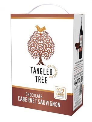TANGLED TREE CHOCOLATE CABERNET SAUVIGNON - 4 x 3L