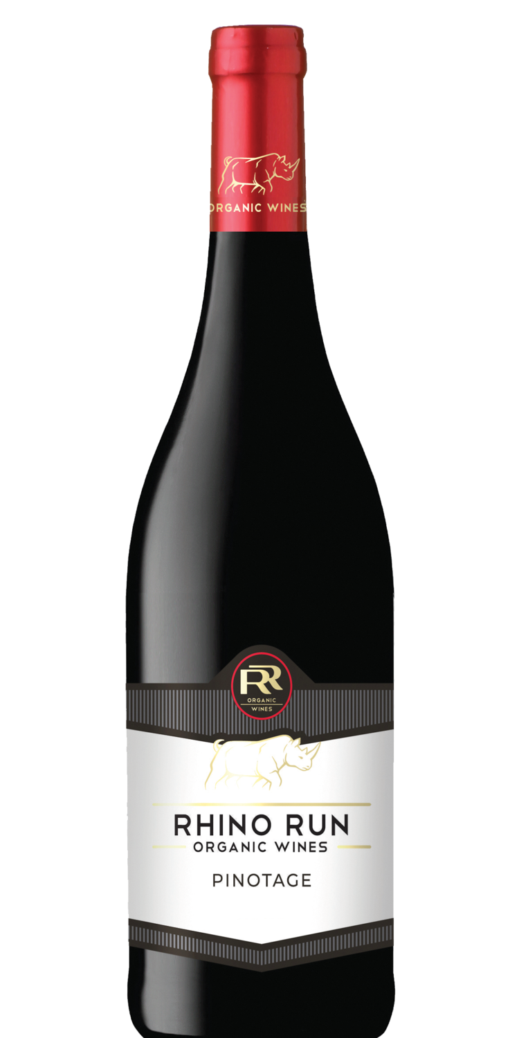 RHINO RUN ORGANIC PINOTAGE - 6 x 750ml