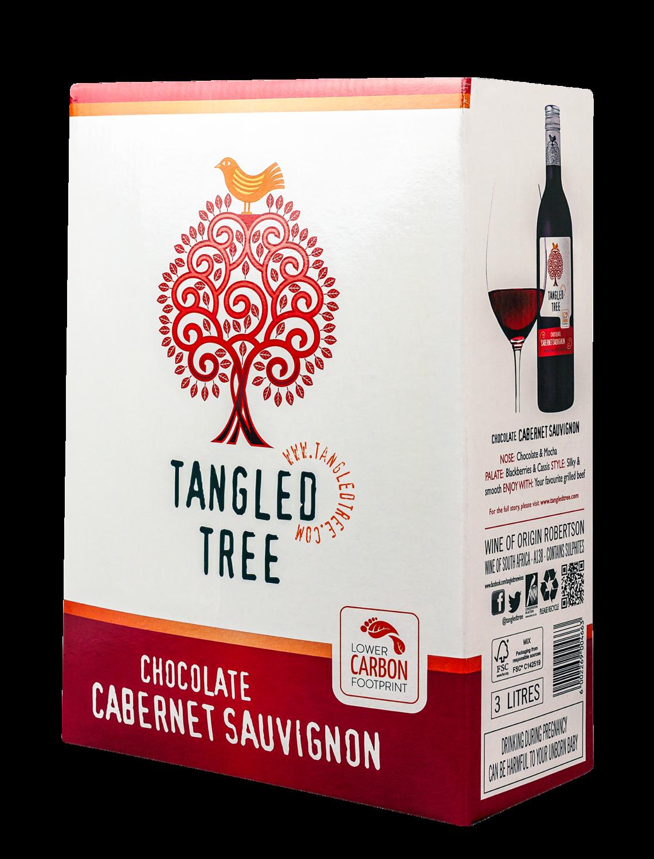 TANGLED TREE CHOCOLATE CABERNET SAUVIGNON - 4 x 3L