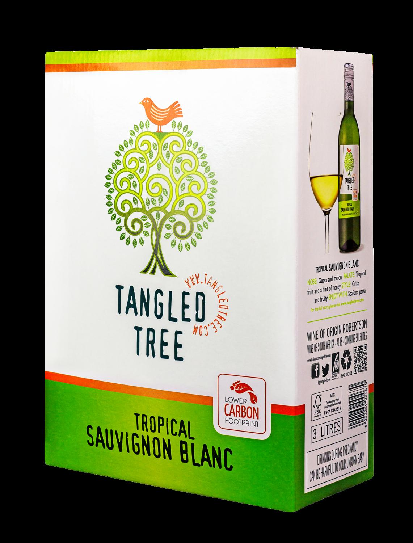 TANGLED TREE TROPICAL SAUVIGNON BLANC - 4 x 3L