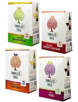 TANGLED TREE BIB VARIETY CASE - 4 x 3L