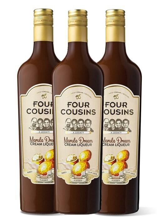 FOUR COUSINS MARULA DREAM GIFT PACK - 3 x 500ml